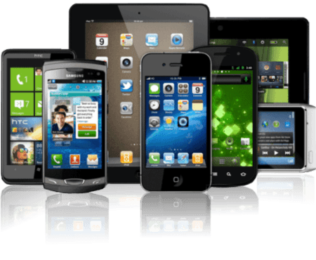Smartphone and tablets compatibility